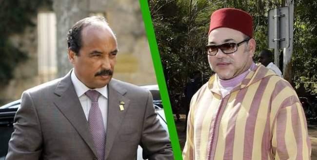 الملك يتباحث هاتفيا مع رئيس موريتانيا