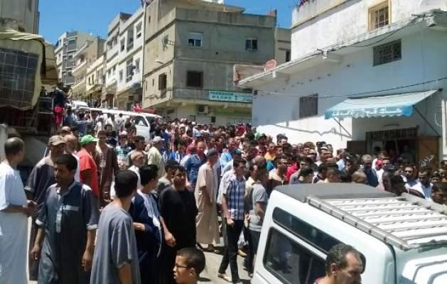 بالصور … هكذا ودعت طنجة جواد الذي قتله الانقلابيون في تركيا
