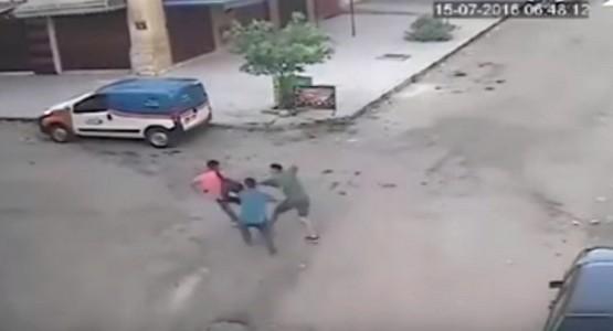 السرقة في واضح النهار في مدينة فاس (فيديو)
