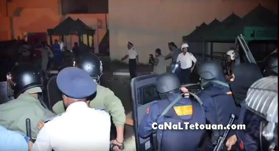 """الرصاص يلعلع في سجن """"عكاشة"""" بعد تمرد السجناء ومحاولة فرارهم (شاهد الفيديو)"""