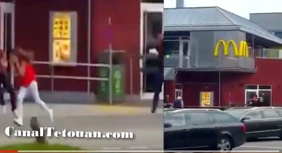 فيديو مرعب.. الرصاص يلعلع بسماء ألمانيا وسط ذعر و هلع المواطنين .