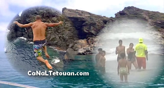 شاب يلقى مصرعه بعد قفزه من أعلى صخرة شاطئ مكاد بوادلاو – اقليم تطوان