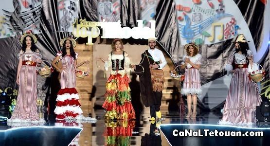 """المصمم التطواني """"أشرف"""" يتألق في المهرجان الوطني """"Caftan Fashion Week"""""""