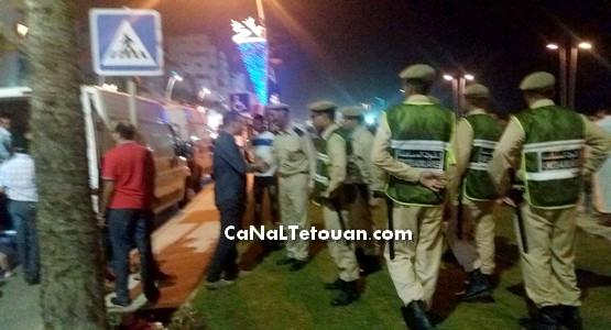 بأمر من عامل الاقليم السلطات المحلية بمرتيل تتدخل لتحرير كرونيش المدينة من الباعة الجائلين