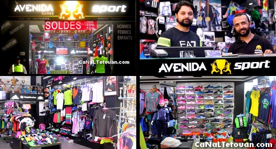 """إغتنموا الفرصة .. بمناسبة السنة الجديدة تخفيضات تصل الى 50% في الماركات العالمية عند """"Avenida sport"""" بتطوان !"""