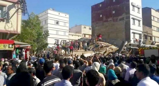 عاجل: انهيار بناية سكنية في الدار البيضاء وأنباء عن عدد كبير من القتلى والجرحى