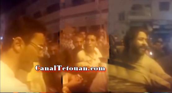 بالفيديو ..مواطنون يستشيطون غضبا في وجه قايد بعد إعتدائه على مواطن في موقف بطولي بالحسيمة
