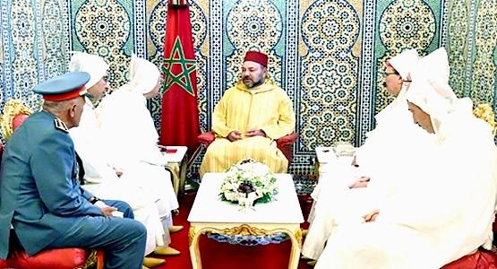 الملك محمد السادس يوجه رسالة من المضيق