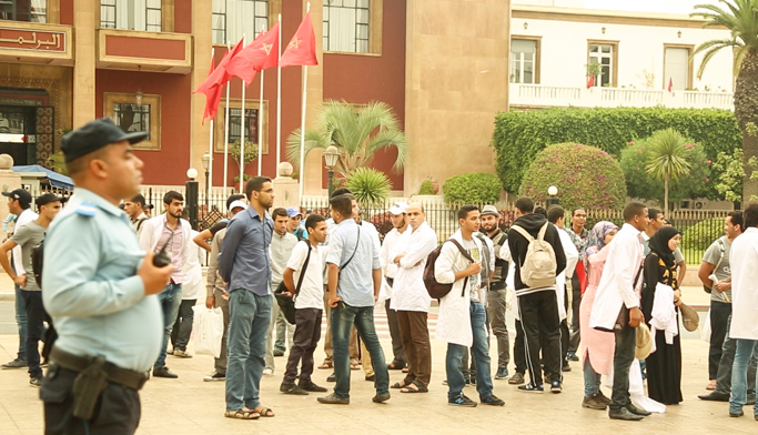 حالات إغماء بين الأطر التربوية بعد إضراب 48 ساعة أمام البرلمان