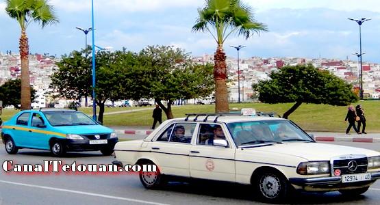 السلطات الأمنية توقف سيارة أجرة مزيفة بين طنجة و تطوان