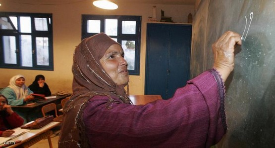 رقم صادم يمثل نسبة الأمية بالمغرب