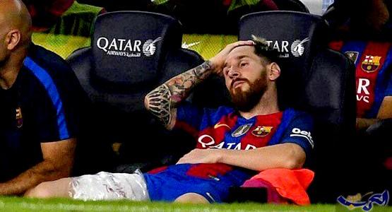 """""""الفيفا"""" تقضي بإيقاف ليونيل ميسي لأربع مباريات"""