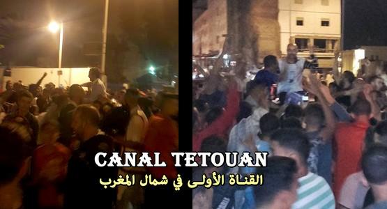 هكذا هي الاحتفالات بمرتيل والفنيدق بعد فوز محمد قروق و علي أمنيول (شاهد الصور)