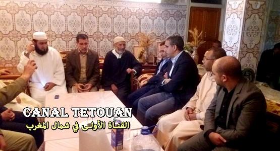 """في غياب لبنكيران .. وفد من حزب """"البيجيدي"""" يزور أسرة محسن فكري لتقديم العزاء"""