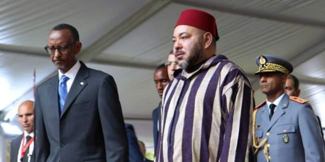 """هذه هي الاتفاقيات """"19"""" التي وقعها الملك محمد السادس مع الرئيس الرواندي"""