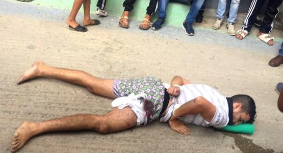 عاجل وبالصور .. إطلاق الرصاص الحي على تاجر المخدرات بطنجة (شاهد)