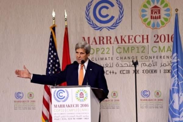 هذا أبرز ما قاله وزير الخارجية الأمريكي جون كيري من مراكش