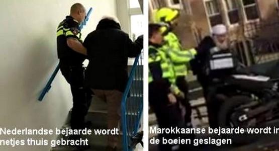 الشرطة الهولاندية تهين عجوزا ينحذر من تطوان ذو 84 سنة