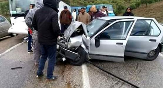 حادثة سير خطيرة بين تطوان وشفشاون