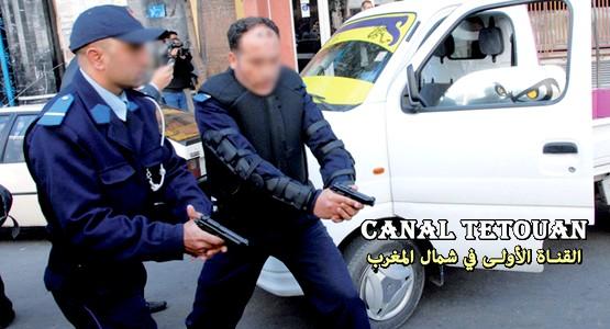 مفتش شرطة يستعمل الرصاص لتوقيف شخص هدد رجال الأمن بسيف !