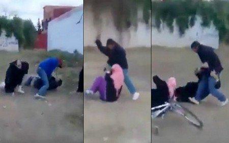 عاجل … الأمن يعتقل الزوج الذي حاول ذبح زوجته بسيدي قاسم