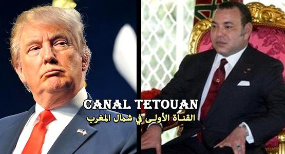رسالة من الملك محمد السادس الى الرئيس ترامب !