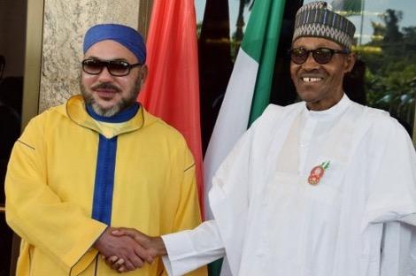 رسالة الملك إلى رئيس نيجيريا