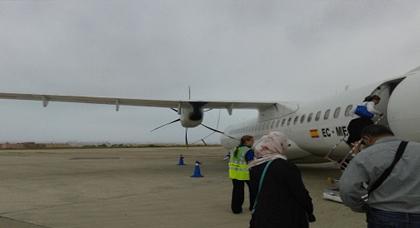 إلغاء عدد من الرحلات الجوية من مطار مدينة مليلية المحتلة