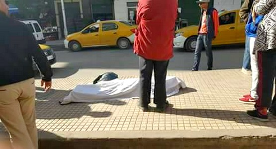 وفاة رجل في الشارع العام بتطوان