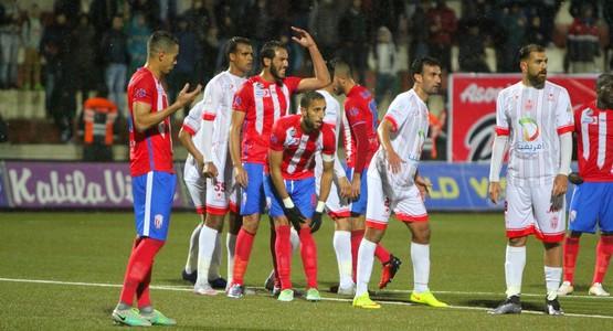هزيمة قاسية لفريق المغرب التطواني أمام حسنية أكادير (شاهد الصور)