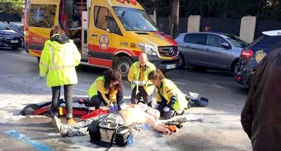 عاجل: مهاجر مغربي يضرم النار في جسده في مدريد !