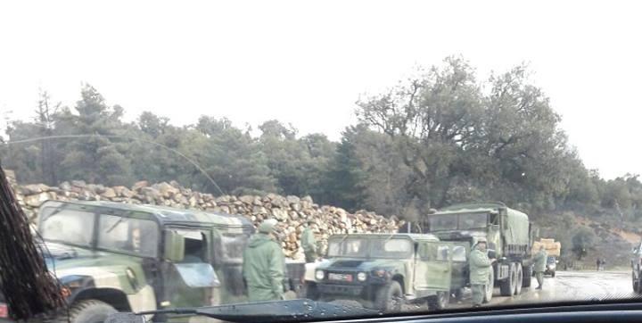 القوات المسلحة ترفع من درجات حالة الاستنفار بمنطقة الكركرات