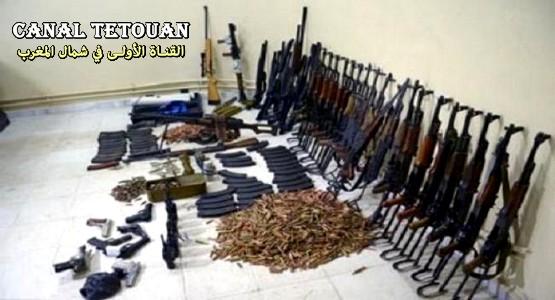العثور على مخبأ للأسلحة بسبتة المحتلة