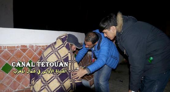 نداء عاجل: جمعية رواحل الخير بتطوان تطلب الدعم من الساكنة لإنقاذ المتشردين من موجة البرد