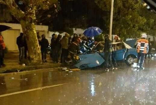 حادثة سير خطيرة بمدينة تطوان