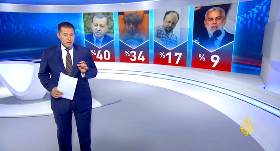 أردوغان شخصية العام 2016 وبنكيران رابعا في استفتاء الجزيرة