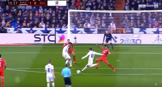 أهداف ريال مدريد واشبيلية (شاهد الفيديو)