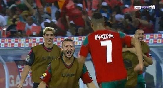 """المنتخب المغربي ينعشون آمال المغاربة في """"كأس افريقيا 2017"""" (شاهد الملخص)"""