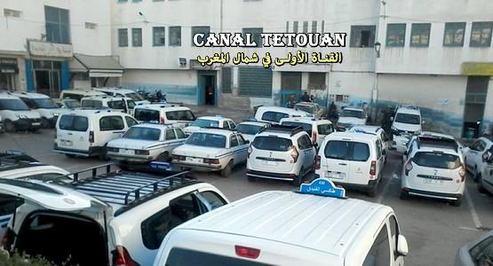 قطاع سيارات الأجرة بالفنيدق يشتكون من تعسف دوريات الجمارك بين الفنيدق وطنجة