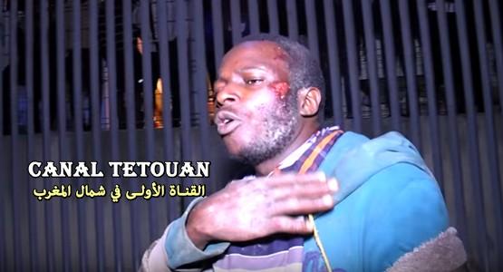 """""""مهاجرون أفارقة"""" يحكون تفاصيل اقتحام سائق مغربي لمعبر باب سبتة"""