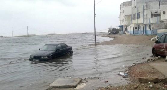 سكان حي الديزة يستغيثون و يطالبون المسؤولين بالتدخل العاجل ! (شاهد صور)