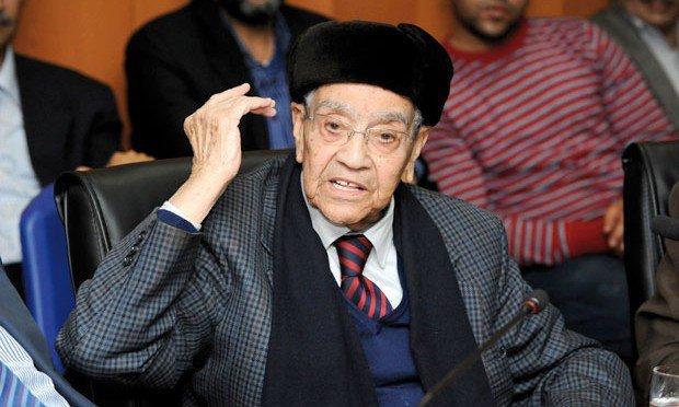 وفاة امحمد بوستة الزعيم الاستقلالي وامين عام الحزب السابق !
