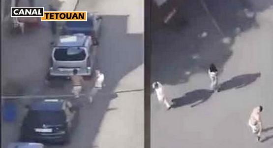 عصابة مدججة بالسيوف تروع ساكنة طنجة (شاهد الفيديو)