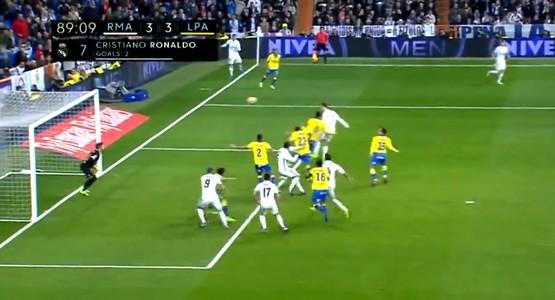 اهداف مباراة ريال مدريد 3-3 لاس بلماس [ جودة عالية ] الدوري الاسباني