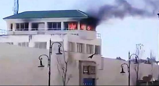 حريق يلتهم برج المراقبة بالسجن المحلي بطنجة