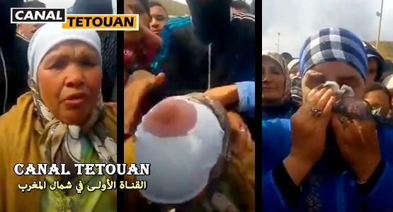فيديو صادم بمعبر سبتة: الإعتداء على مسنة في عيد الأم !