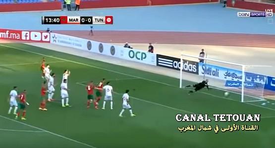ملخص مباراة المغرب وتونس (شاهد الفيديو)