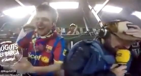 دموع وجنون المعلق الكتلوني على المباشر وفرحة لا تصدق بعد تأهل البارصا (شاهد الفيديو)