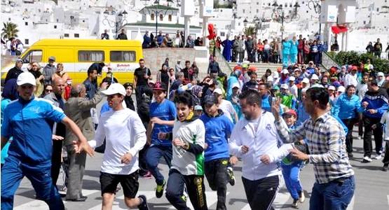 جمعية يحيى للأطفال التوحديين تنظم السباق الأول على الطريق بتطوان (+صور)