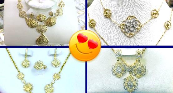 """متجر """"مجوهرات نسرين"""" بتطوان يعود إليكم بموديلات جديدة من الذهب والفضة (شاهد الصور)"""